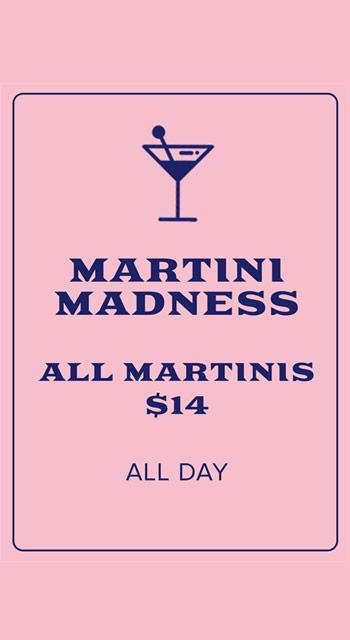 Friday Martinis
